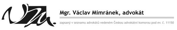 Advokátní kancelář Mgr. Václav Mimránek